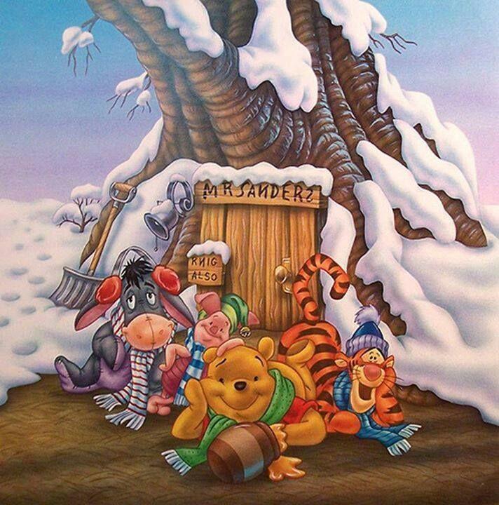 Those happy Winnie The Pooh Chrismas days ) Winnie The Pooh \u003c3