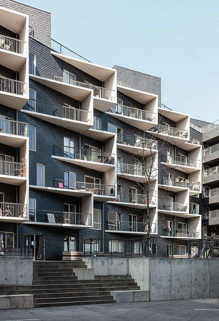 Lundgaard Tranberg Fyrtrnet 3 Apartments Luxury Architecture Facade Residential