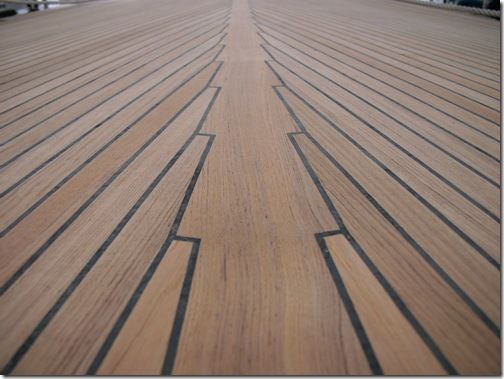 Teak Decking I Like This Design Kinda Like A