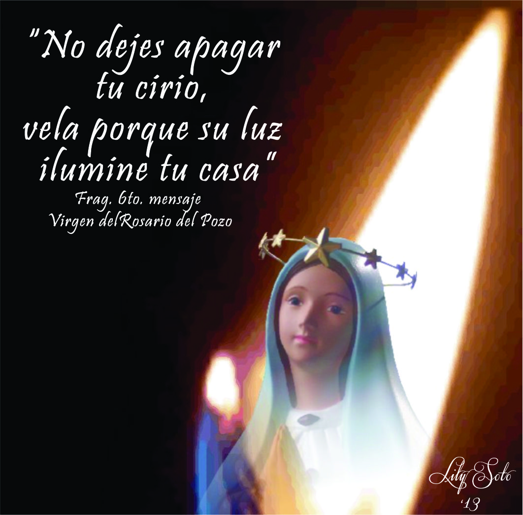 """Do not let your candle burn out; see to it that its light illuminates your house."