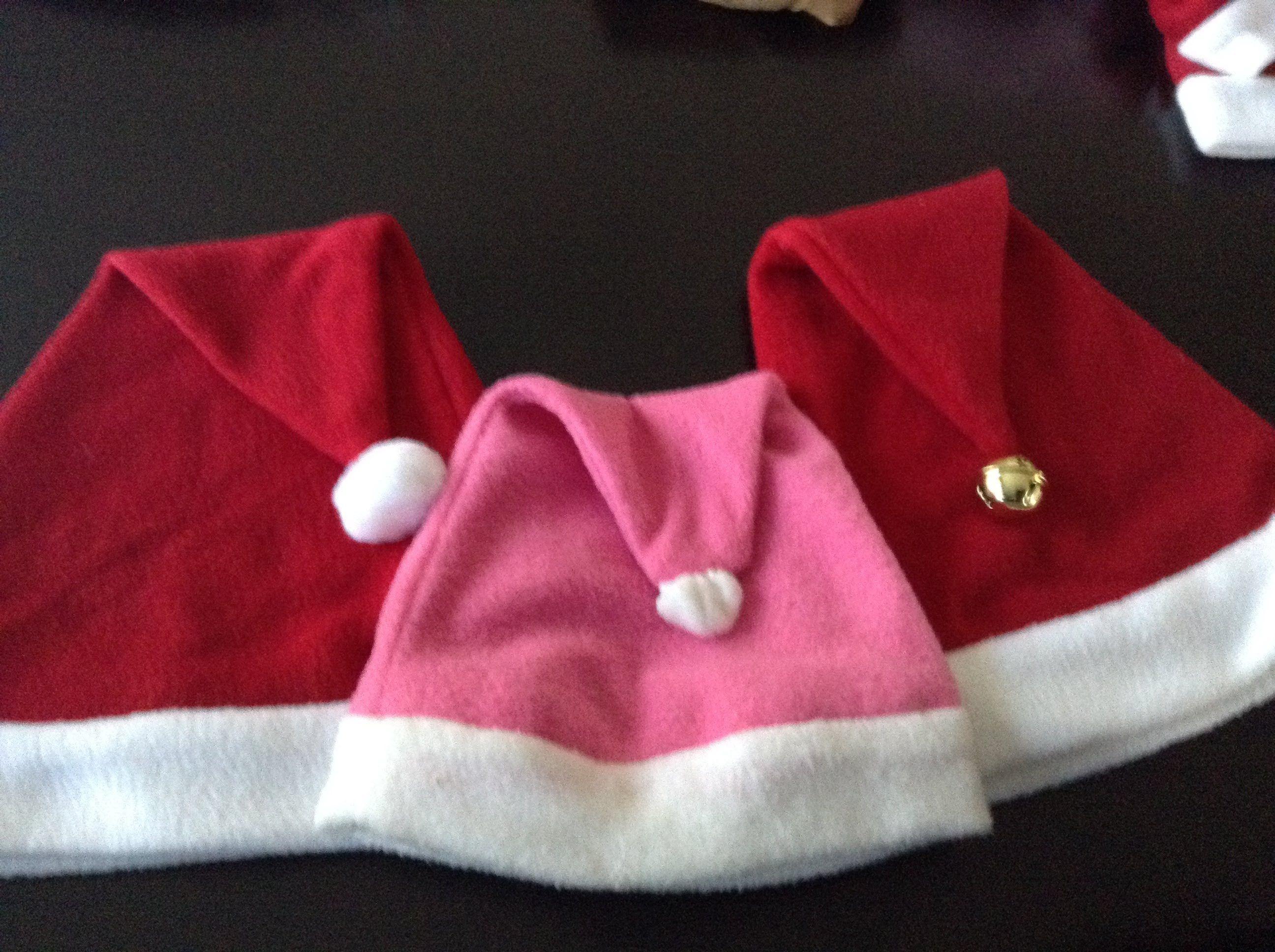 Como hacer gorro de navidad muy facil navide o for Menu navideno facil de hacer