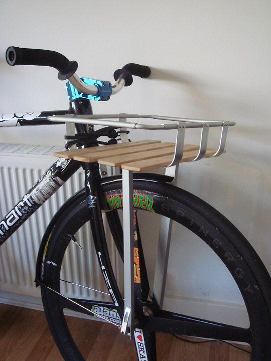 Diy Porteur Rack V1 Quot The Man Basket Quot Bicycle Pinterest