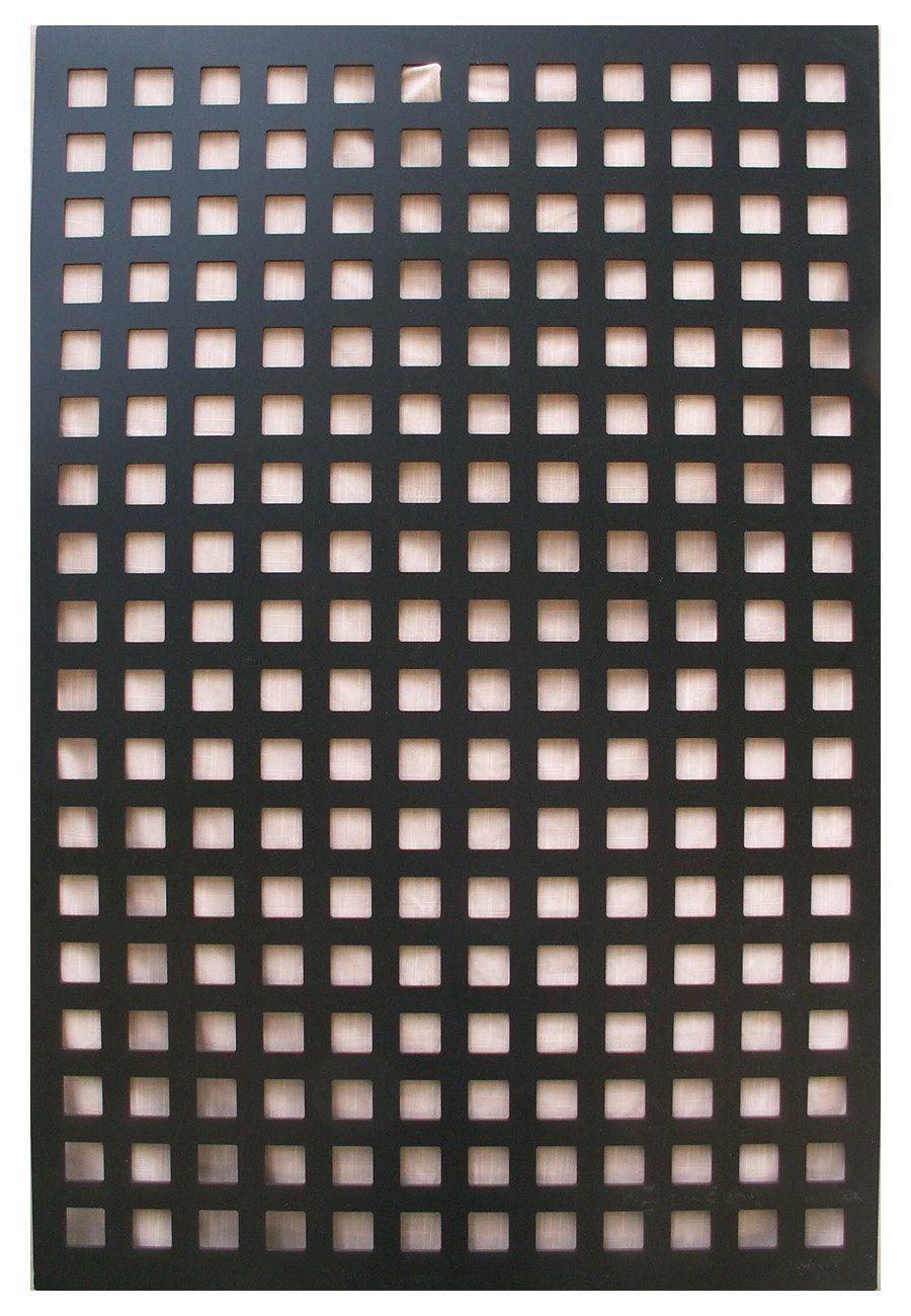 Amazon Com Acurio Square Black Vinyl Lattice Decorative Privacy Panel Patio Lawn Garden Lattice Fence Lattice Fence Panels Backyard Fences