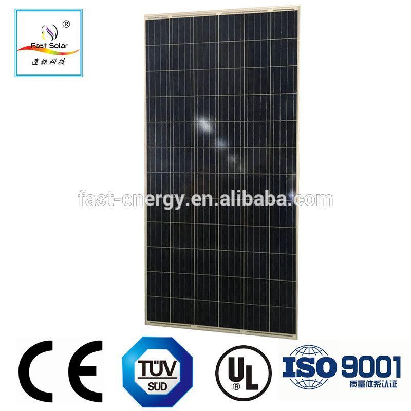 A grade 250W 255W 260W polycrystalline solar panel with 60