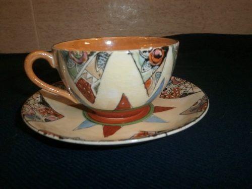 taza antigua de te colección porcelana japonesa