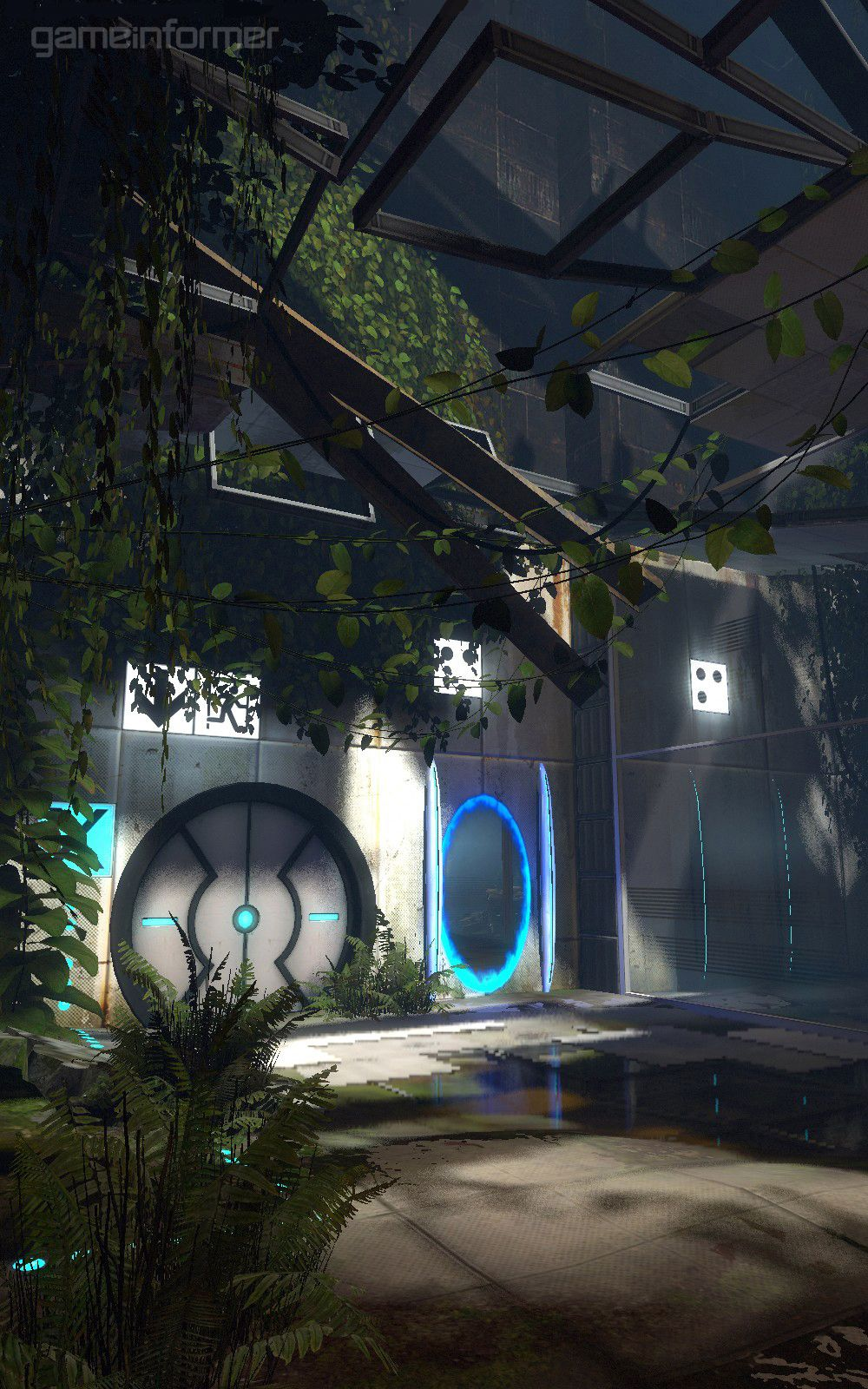 Pin By Antonio K On Portal 2 Concept Art Portal Art
