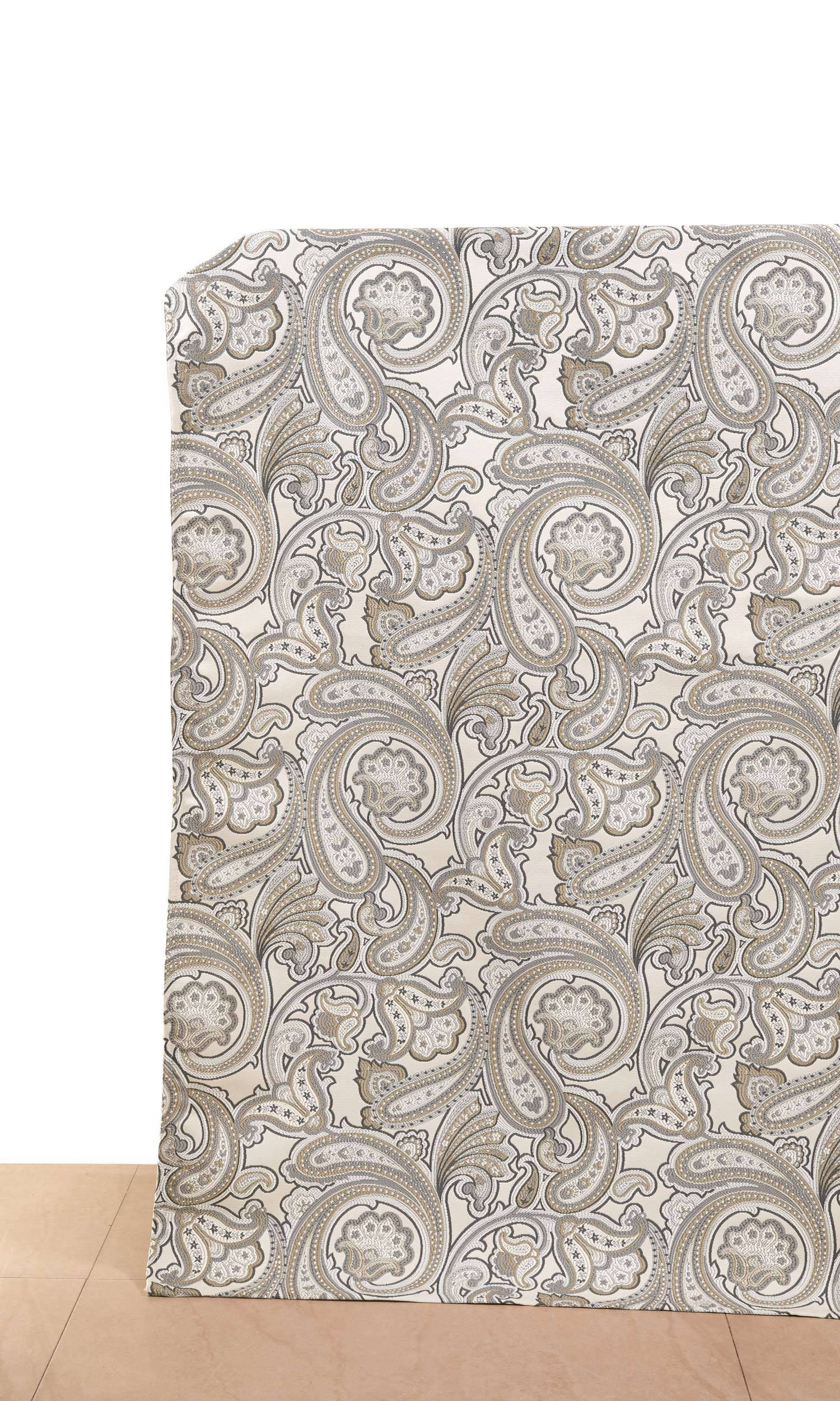 e0091d611f2 Harbor Greige' Fabric Swatch (Pale Beige/Graphite Gray/ Charcoal ...