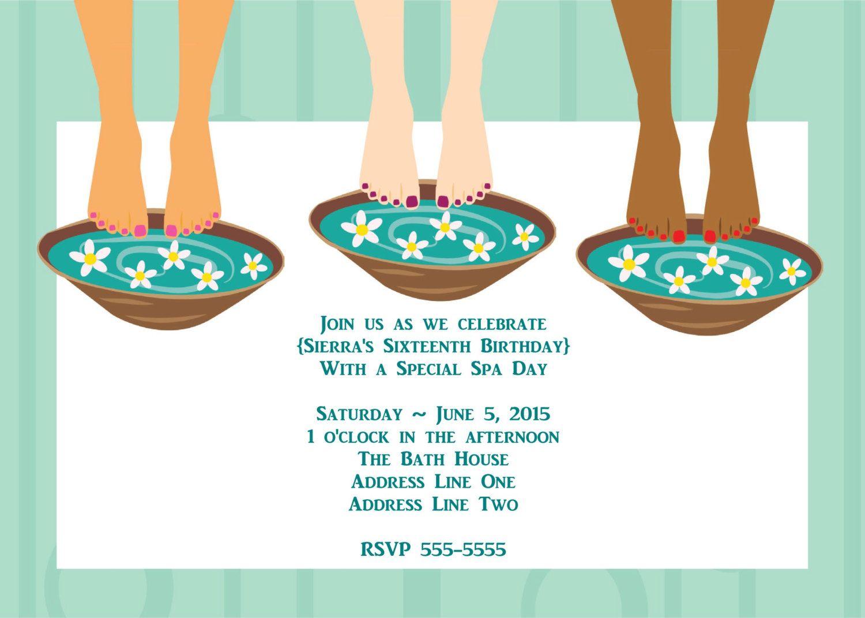 INSTANT DOWNLOAD Printable Arbonne Party Invitation Customizable – Arbonne Party Invitations
