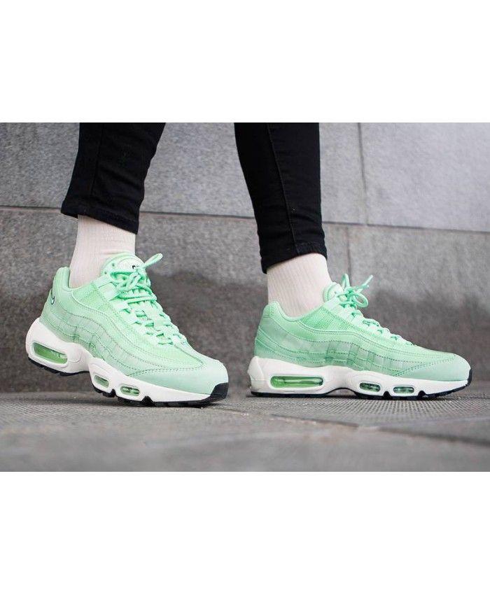 finest selection 1f5c7 455ae Nike Air Max 95 Fresh Mint Womens NIKE1009