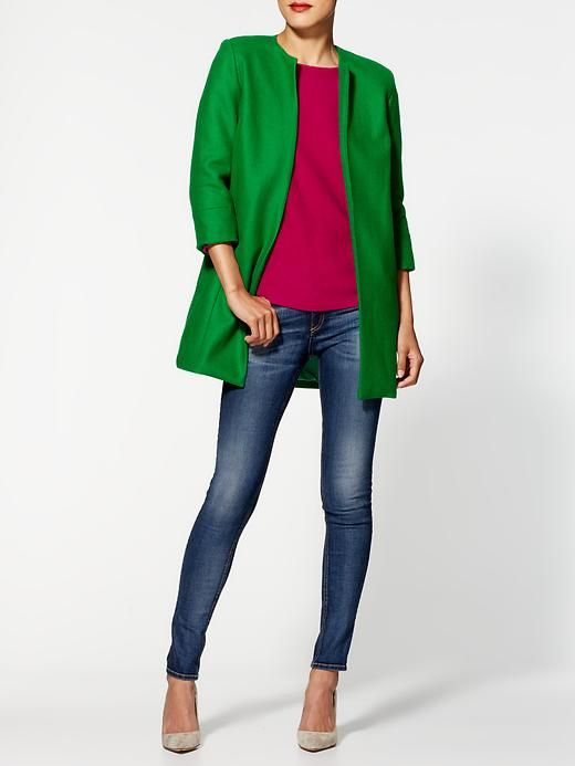 Mia Fitted Coat