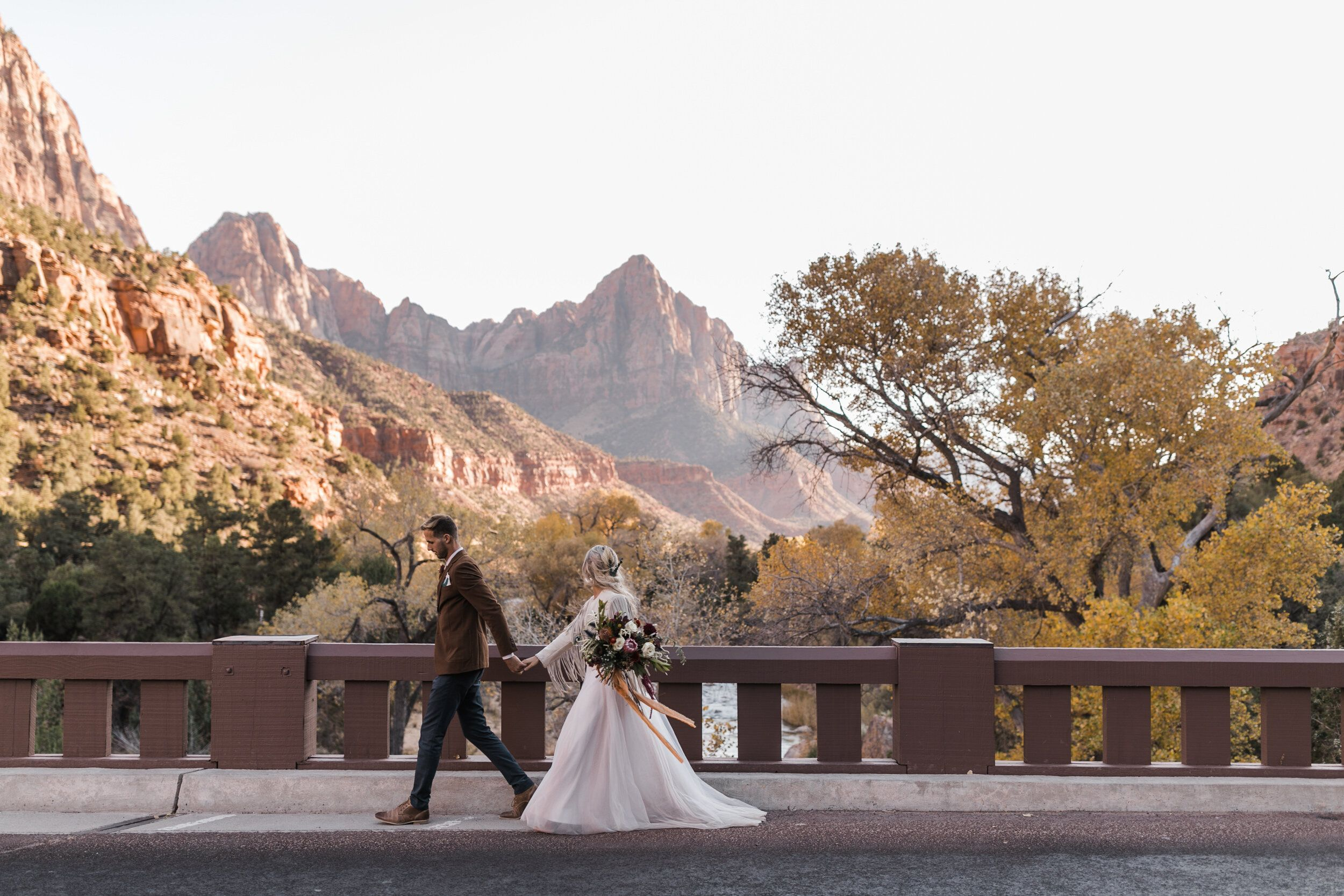 Zion National Park Wedding Under Canvas Zion And Lazalu Adventure Wedding Elopement Photographers In Moab Yosemite And Beyond The Hearnes In 2020 Adventure Wedding National Park Wedding National Parks