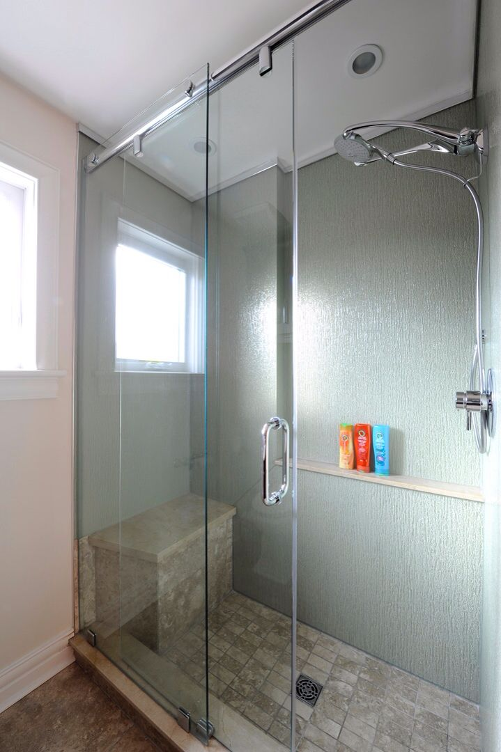 Renovated Glass Shower Beautiful And Unique Shower Sliding Glass