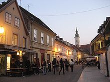 My Mom Is From Zagreb Tkalciceva Street In Is One Of My Favorite Streets Cafe Next To Cafe Next To Cafe Zagreb Croatia Zagreb Croatia