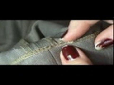vídeo aula Transformar a calça em slim fit  (3 Parte)