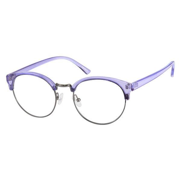 34a115f1c3 Zenni Browline Prescription Eyeglasses Purple Tortoiseshell Mixed Materials  1911817