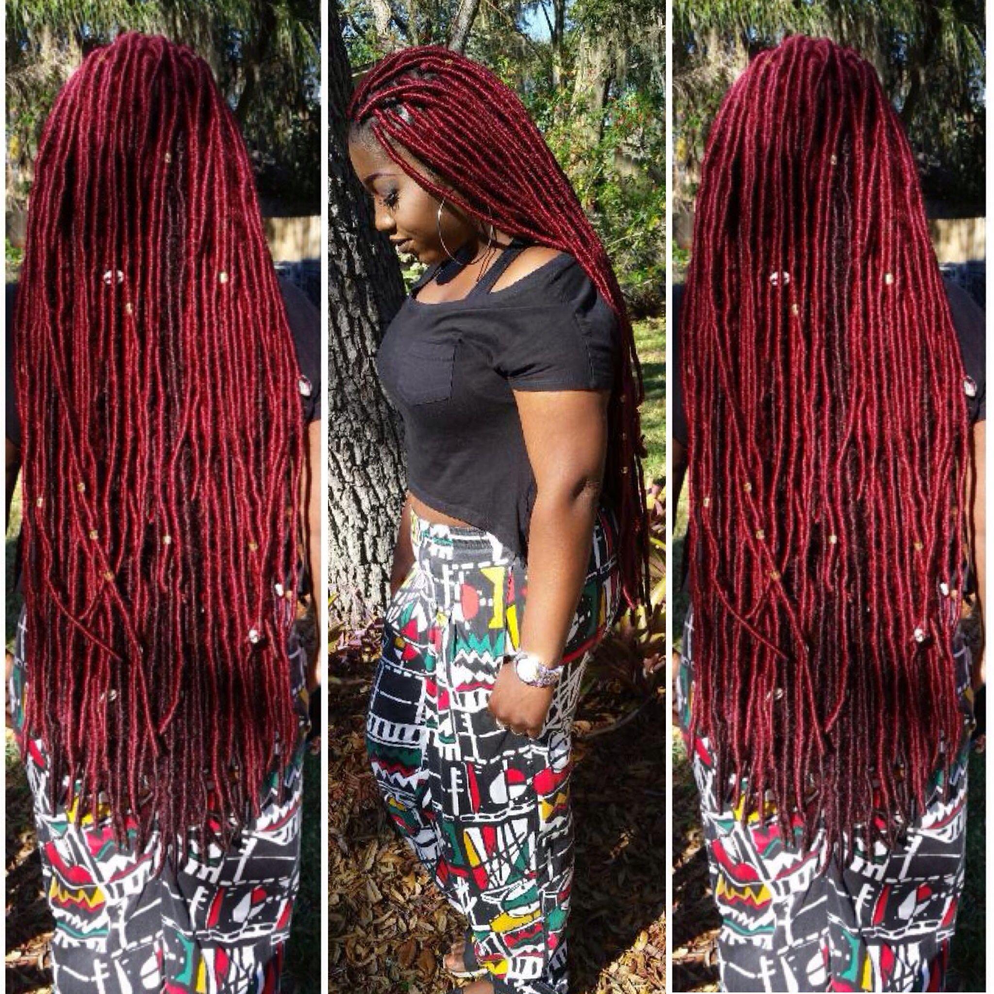 My Faux Locs Styleseat Com Brittanyl Faux Locs Yarn