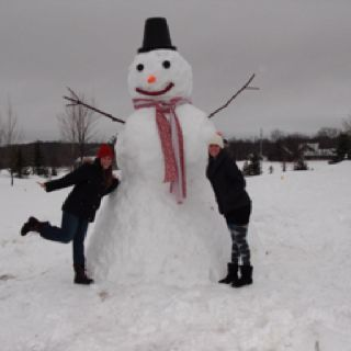 Now that's what we in Minnesota call a Snowman!