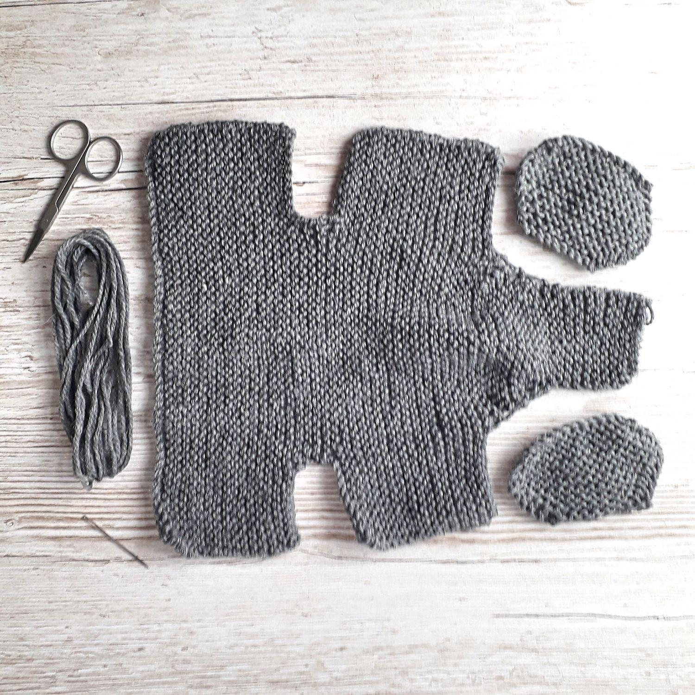 #Easy #Elephant #Knitting #Pattern Little grey Baby ...