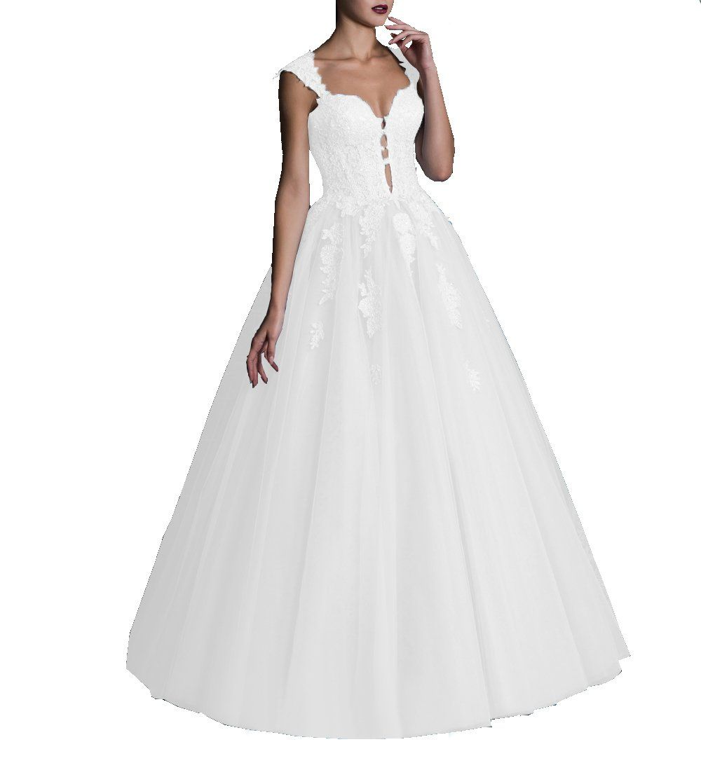 6e898cd97ee DarlingU Womens Sweetheart Quinceanera Dresses Prom Keyhole Appliques Formal  Evening Gown White 4     You can obtain even more information by clicking  on ...