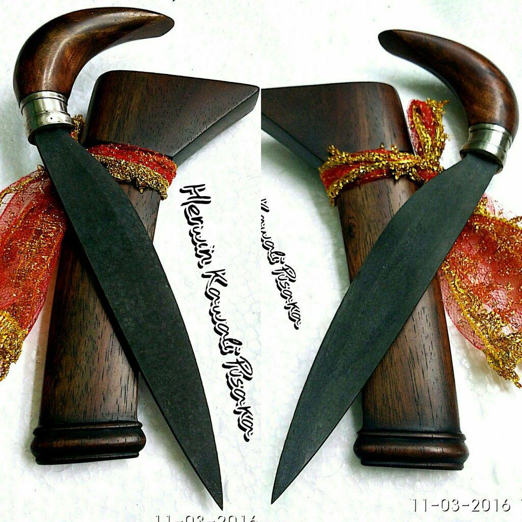 Badik Makassar Malela Maressa Awo Weapons Buginese From Karambit Antiq Senjata Pusaka Minangkabau Guns Firearms Weapon Coat