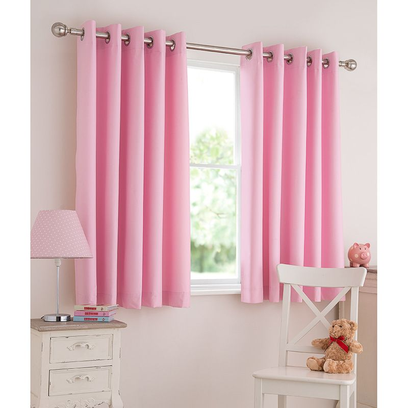 Silentnight Kids Light Reducing Eyelet Curtains 46 x 54