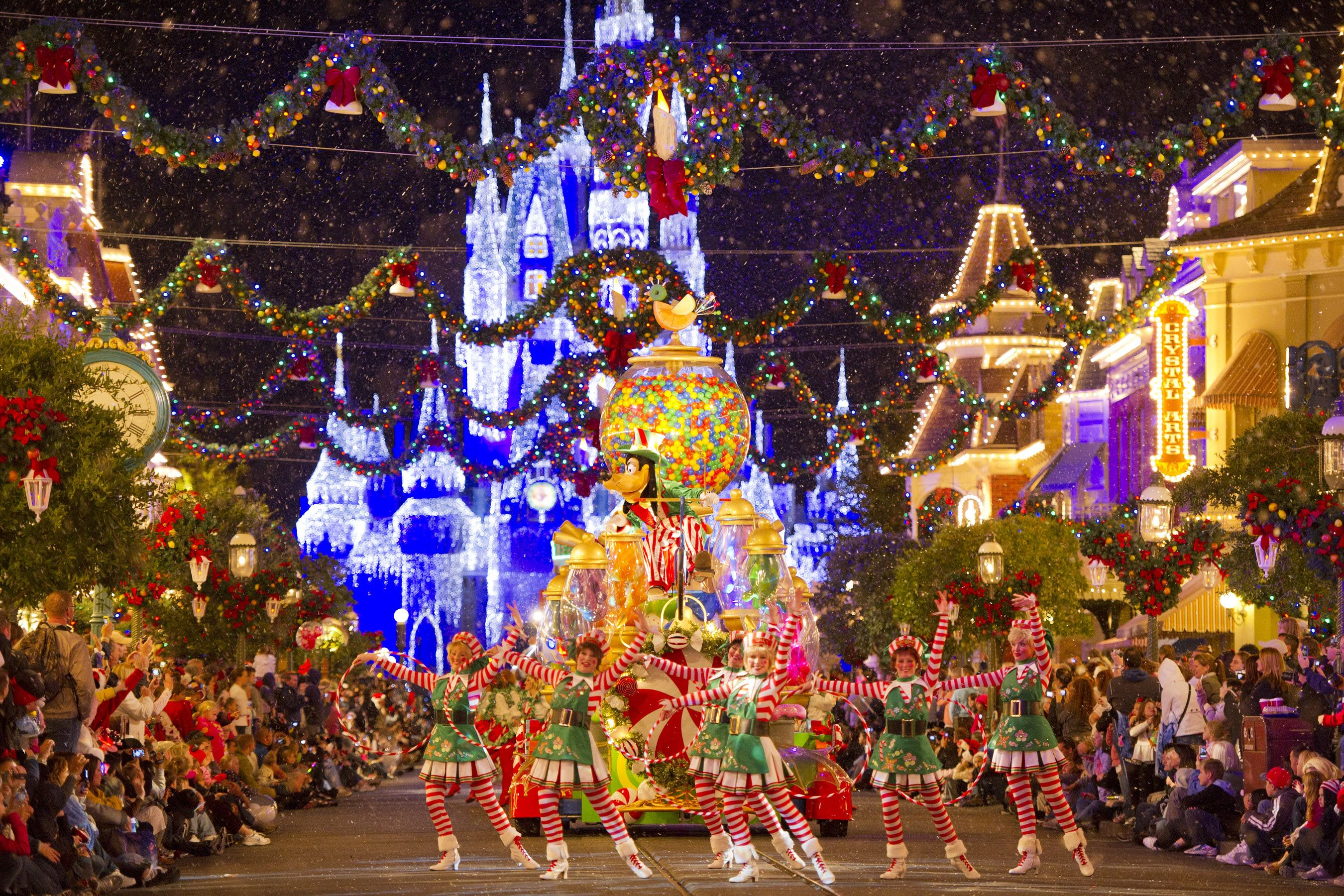 A magical place anytime of the year, Disney is even more ...