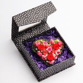 Rose Fabric Sweetie Pin