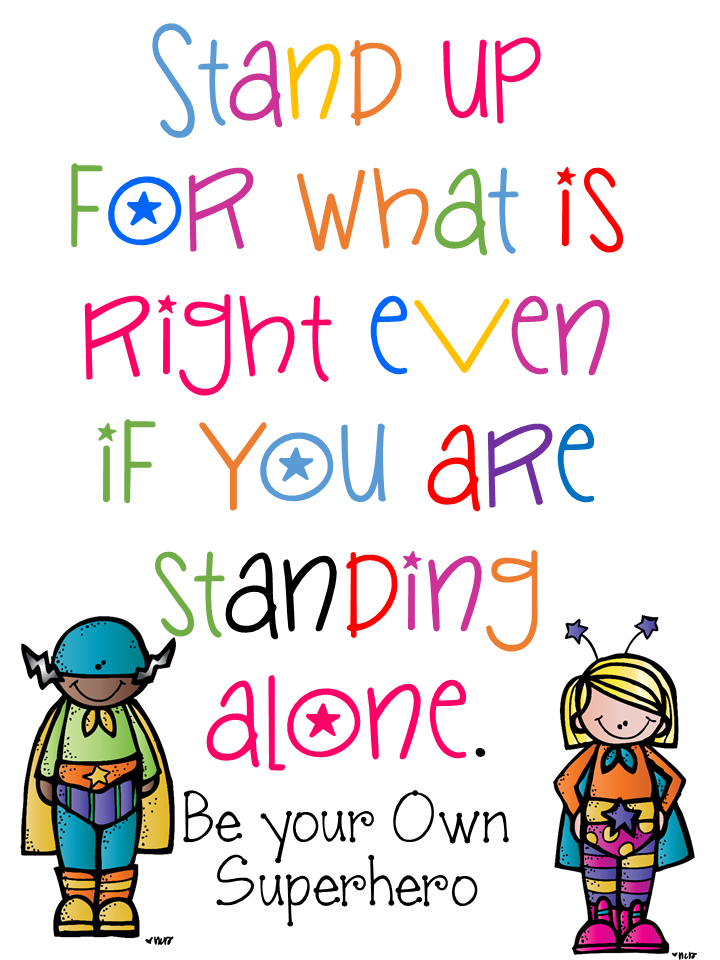 Elementary Amc Bullying Prevention Awareness Week Inspirational Quotes For Kids Quotes For Kids Classroom Quotes