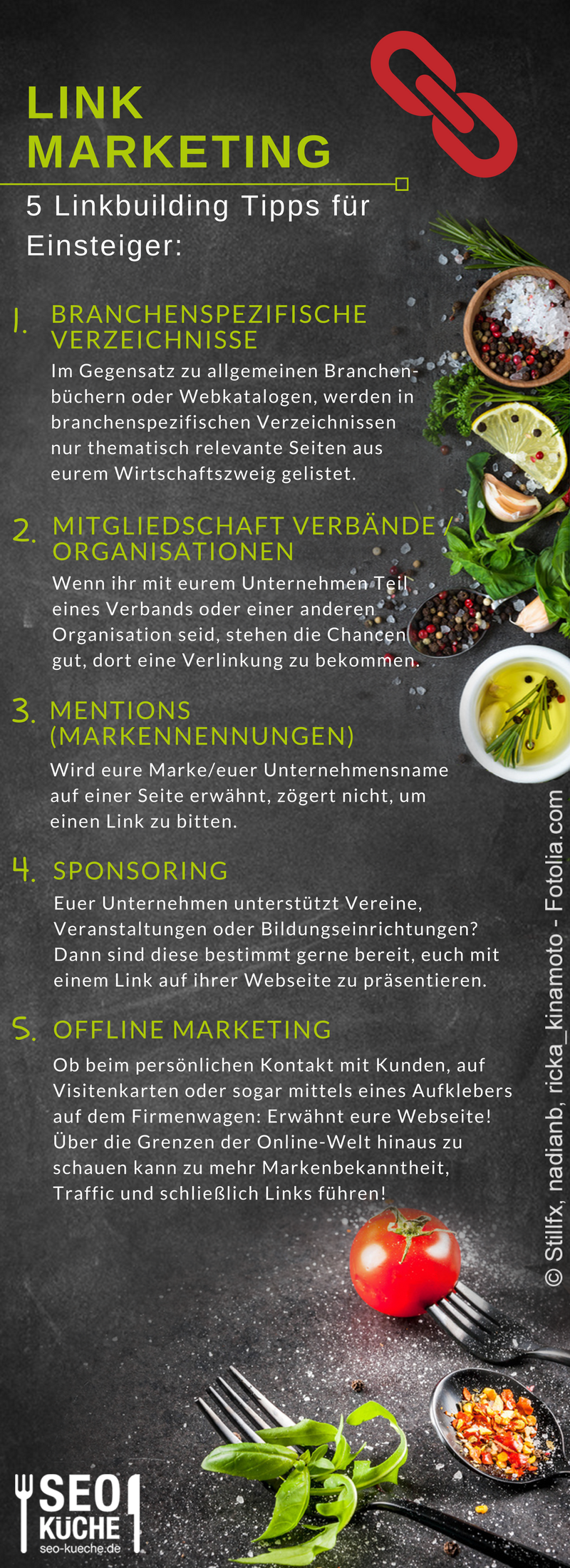 Unsere Top-5-Linkbuilding Tipps - SEO-Küche.de | Content marketing ...