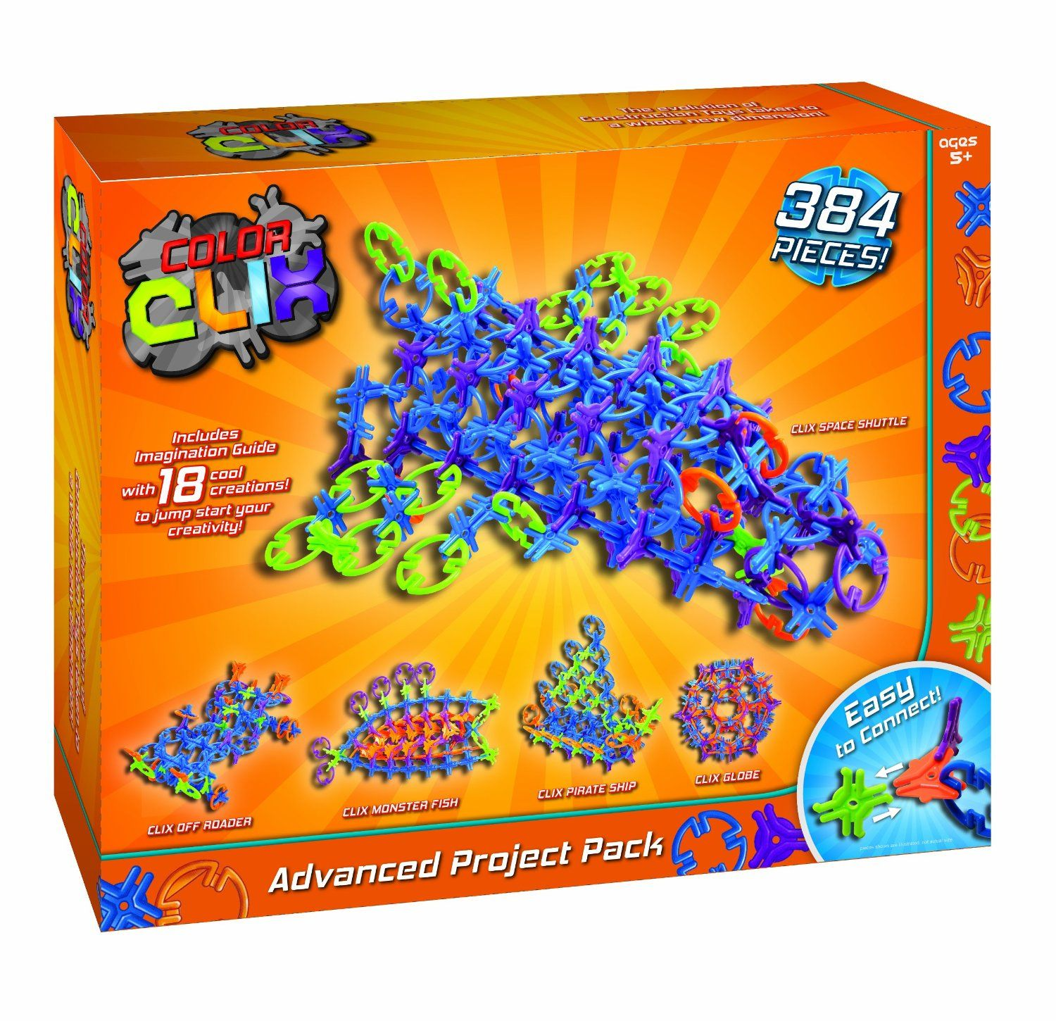 Color clix advanced project pack toys games