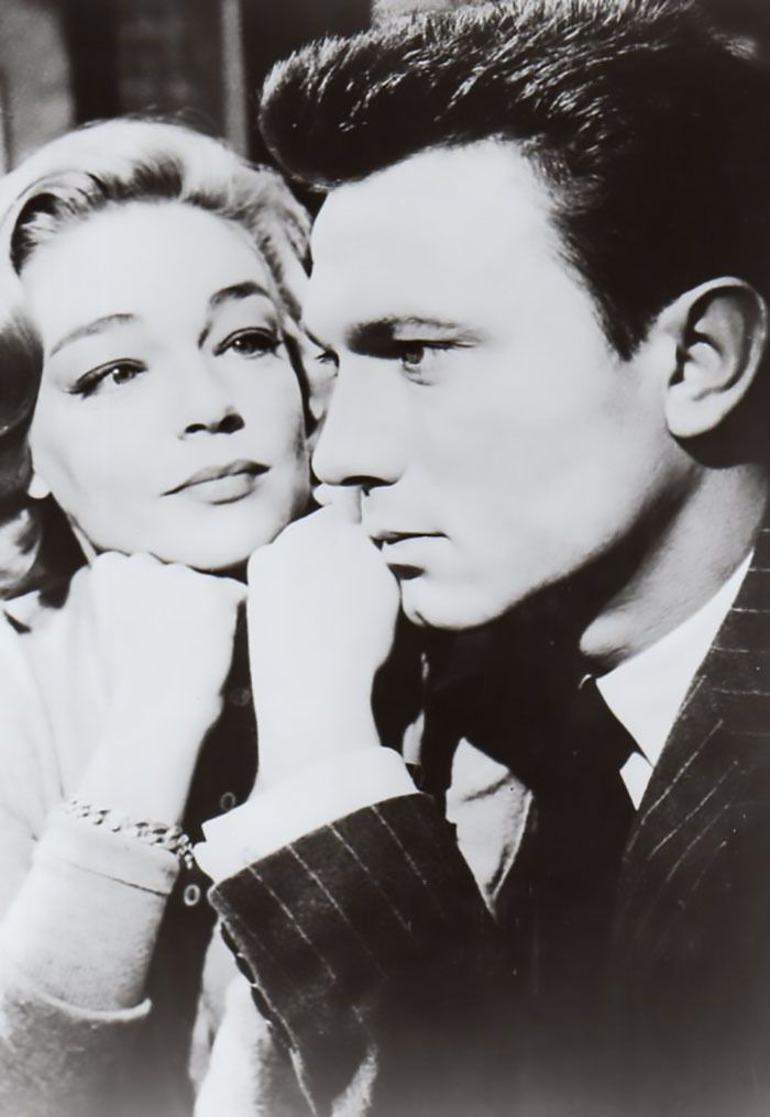 Laurence Harvey Y Simone Signoret En Un Lugar En La Cumbre Room At The Top 1959 Fotos Actores Norteamericanos Fotos De Parejas
