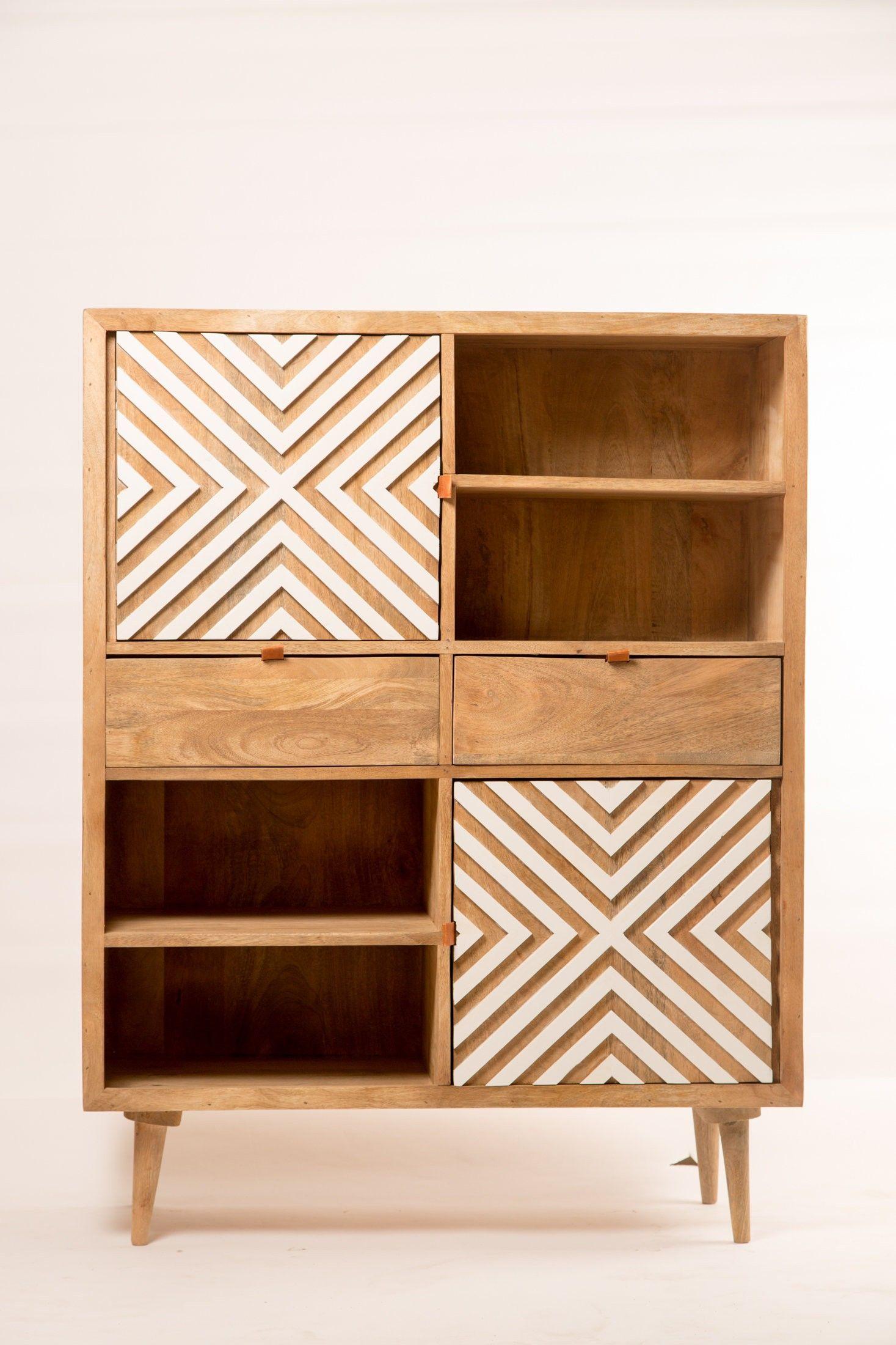 Buffet Design Bois Geometrique A New 19 1 18 Design Buffet