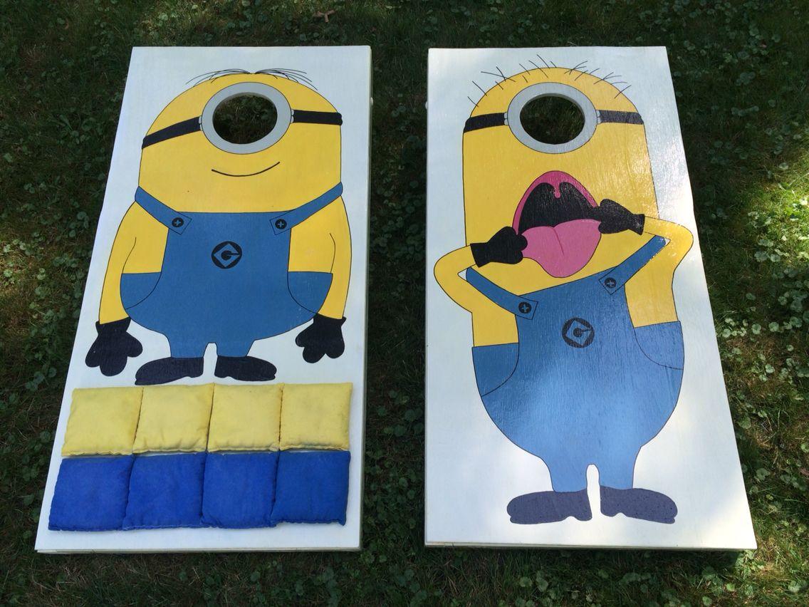Minion Cornhole Boards Cornhole Cornh
