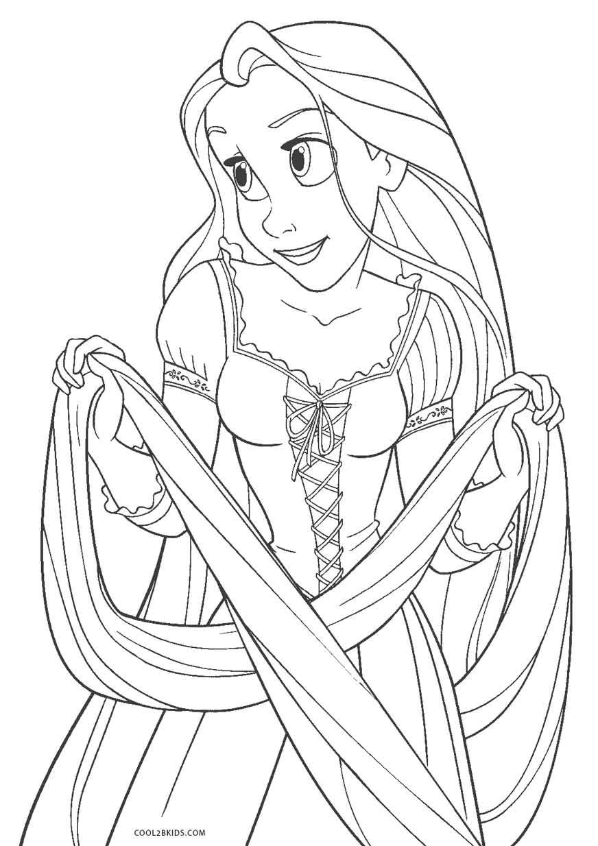 Free Coloring Prints In 2020 Tangled Coloring Pages Coloring Pages Curious George Coloring Pages