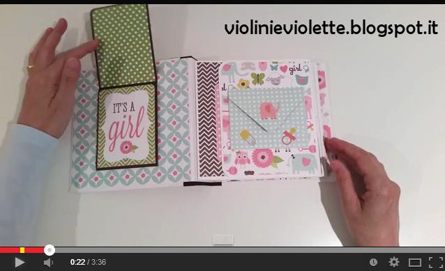 Violini e Violette: Mini album in rosa