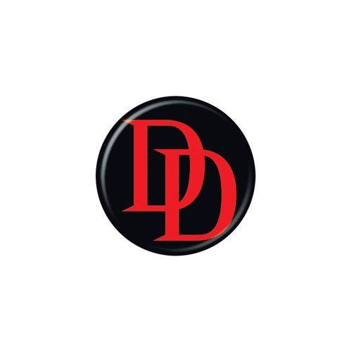 Daredevil Logo Button Daredevil Marvel Marvel Comics