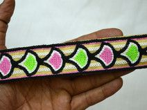 Indian Laces Embroidered Sewing Trim