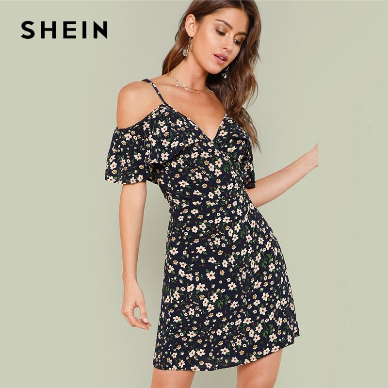 2e5344b8e3088 Cheap Dresses, Buy Directly from China Suppliers:SHEIN Open Shoulder ...