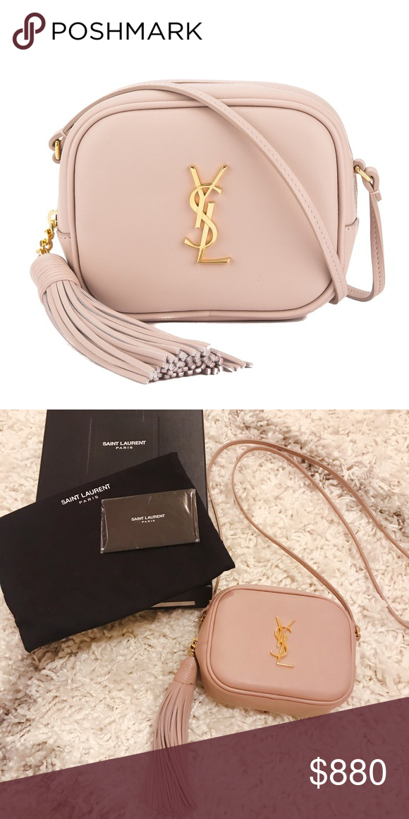 38e905620ff0 Ysl Blogger Bag Powder Pink Gold Hardware 100%Authentic. Comes with  Original packaging