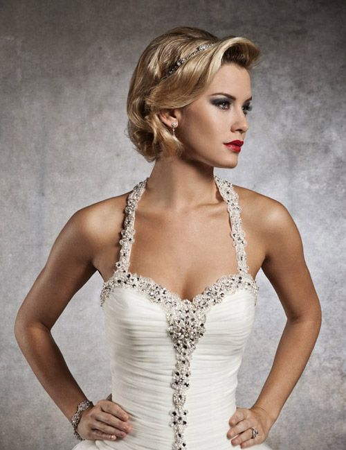 Wedding Hairstyles For Short Hair Womens