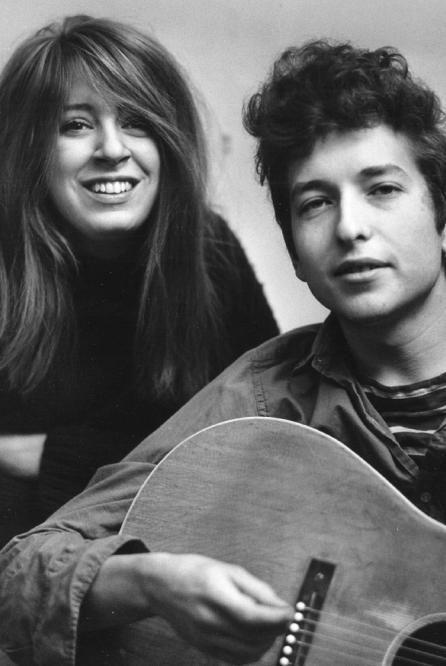 Suze Rotolo y Bob Dylan en 1970.