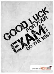 A Very Good Luck Wish For Maths Exam Health Exam Wishes Good