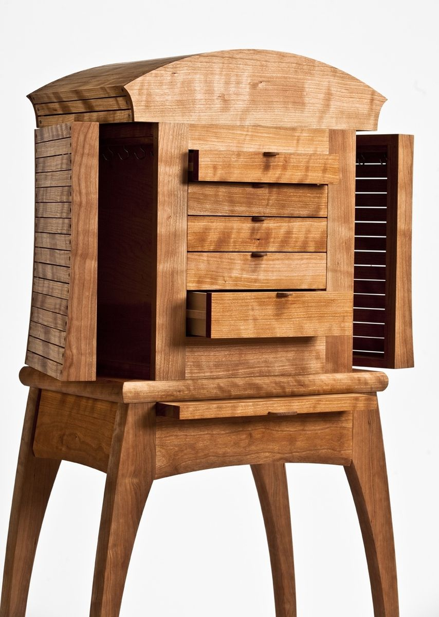 Turner Furniture Custom Made Jewelry Chest By Peter S Turner Furniture Maker M