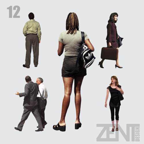 ZENT Design 2D: PEOPLE PNG - TIFF