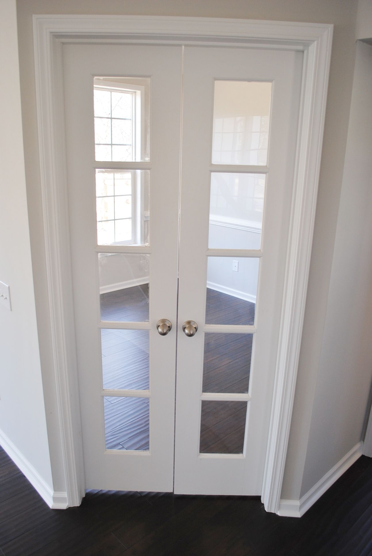French Doors Leading Into Study Bonus Room Bonus Room Room Doors Interior