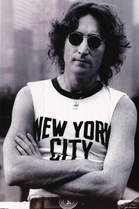John Lennon #stagediving
