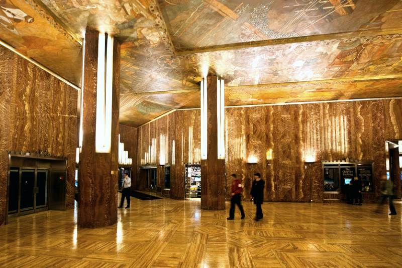 Chrysler Building Interior Szukaj W Google With Images