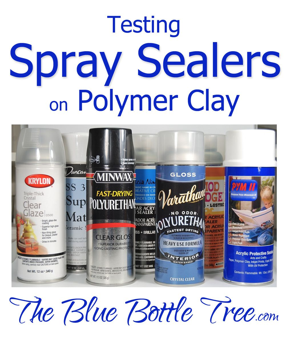 spray sealers for polymer clay can be sticky everything polymer