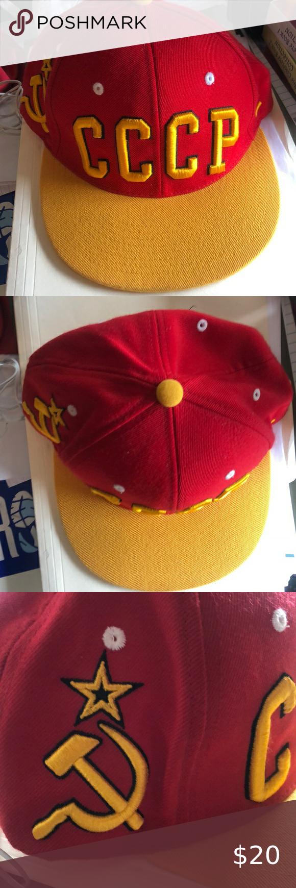 Ussr Soviet Union Zephy Snapback Hat Soviet Union Ussr Snapback Hats