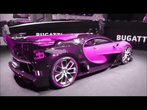 Color Changing Bugatti Vision Gran Turismo 8 0 W16 1500 Hp 463 Km H 287 Mph Playlist Youtube Bugatti Concept Cars Unique Cars